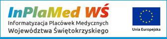 Znak Projektu Informatyzacja Placówek Medycznych Województwa Świętokrzyskiego i Unii Europejskiej